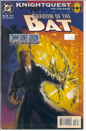 Batman Shadow of the Bat # 28, 9.4 NM