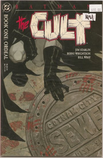 Batman The Cult # 1, 9.4 NM