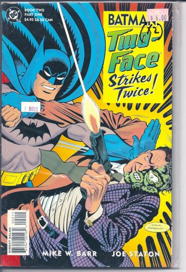 Batman Two-Face Strikes Twice # 2, 9.4 NM