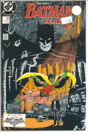 Batman Year 3 # 437, 6.0 FN