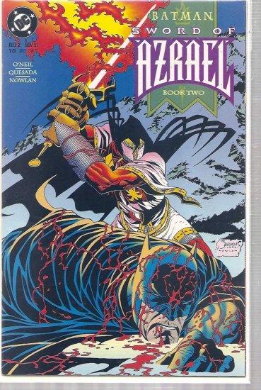 BATMAN: SWORD OF AZRAEL # 2, 6.0 FN