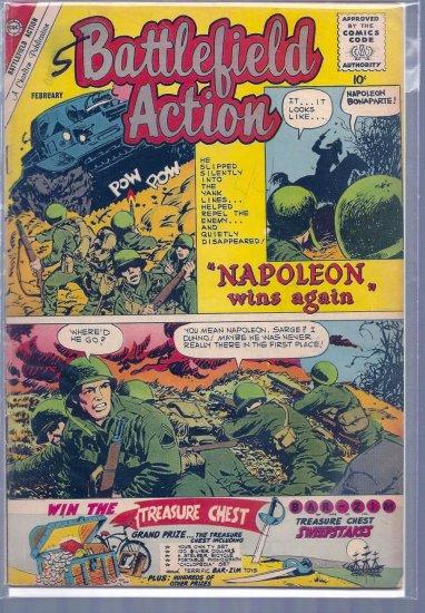 BATTLEFIELD ACTION # 34, 4.5 VG +
