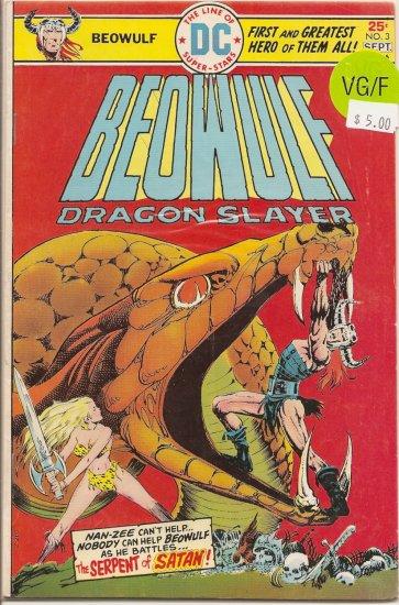 Beowulf # 3, 5.0 VG/FN