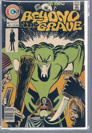 BEYOND THE GRAVE # 3, 8.5 VF +