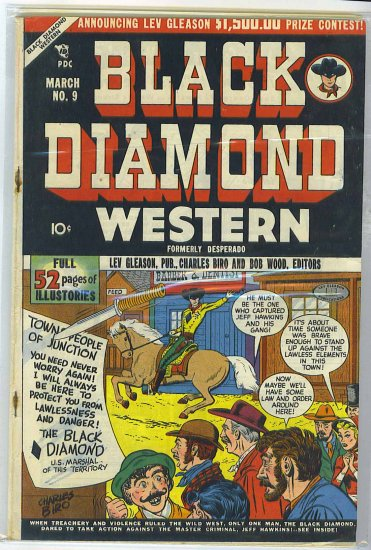 Black Diamond Western # 9, 4.0 VG