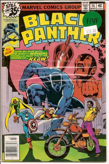 Black Panther # 14, 7.0 FN/VF