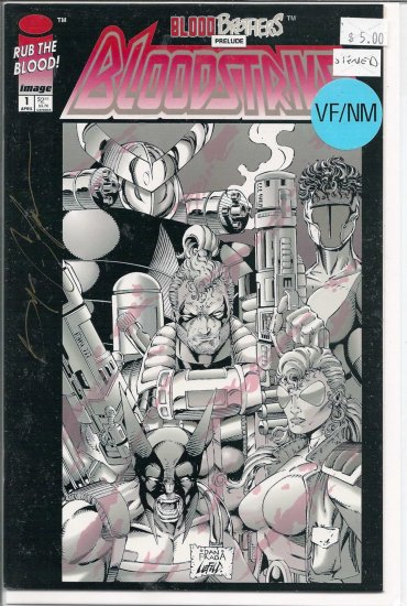 Bloodstrike # 1, 9.0 VF/NM