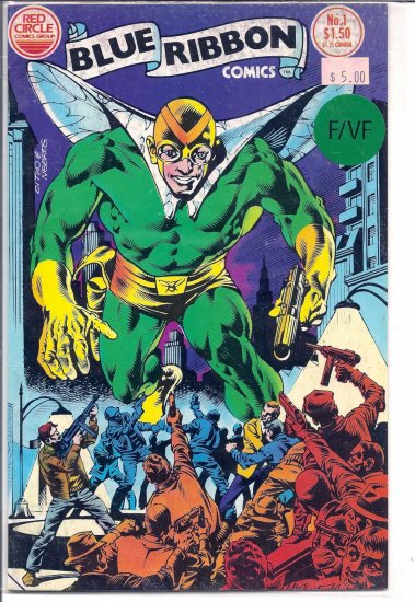 Blue Ribbon Comics # 1, 7.0 FN/VF