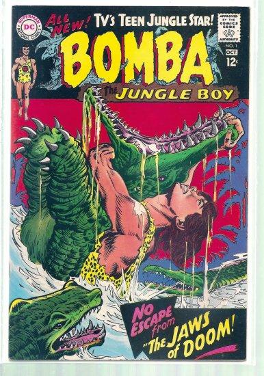 BOMBA THE JUNGLE BOY  # 1, 7.5 VF -