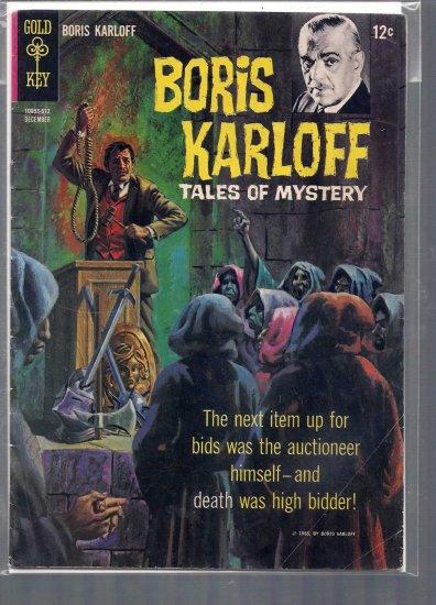 BORIS KARLOFF TALES OF MYSTERY # 12, 4.5 VG +