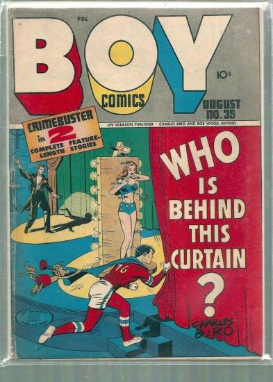 BOY COMICS  # 35, 4.0 VG