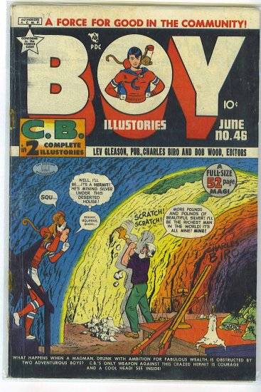 Boy Comics # 46, 2.0 GD