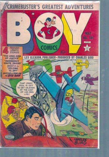 BOY COMICS # 101, 3.5 VG -