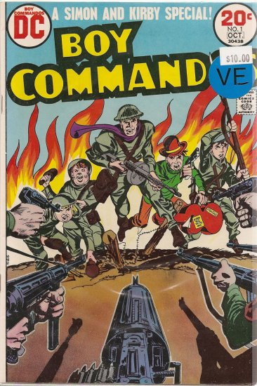 Boy Commandos # 1, 7.5 VF -