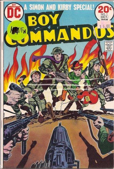 Boy Commandos # 1, 6.0 FN