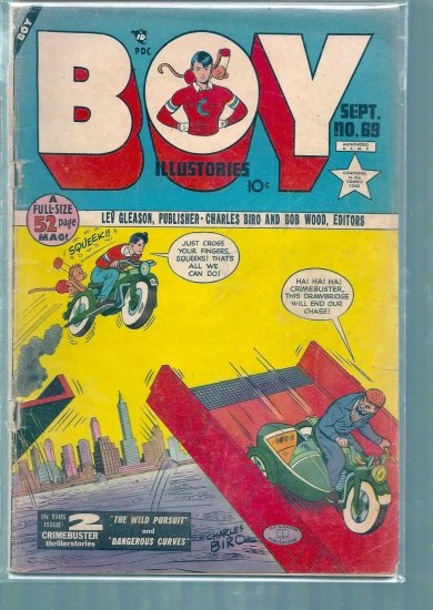 BOY ILLUSTORIES # 69, 1.8 GD -