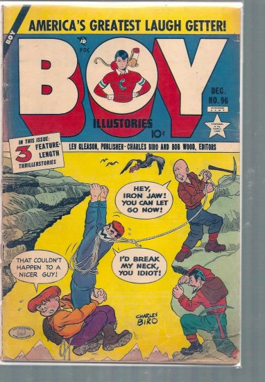 BOY ILLUSTORIES # 96, 1.8 GD -