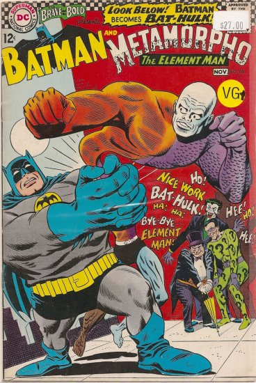 Brave and the Bold # 68, 4.5 VG +