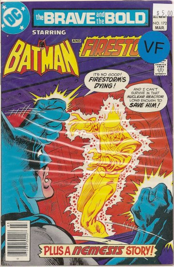 Brave and the Bold # 172, 8.0 VF