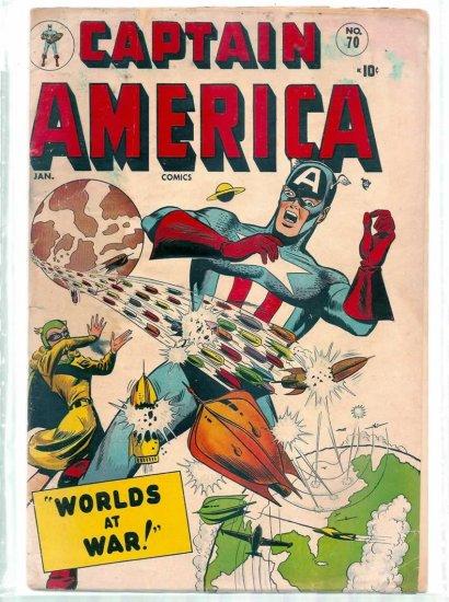 CAPTAIN AMERICA # 70, 2.0 GD
