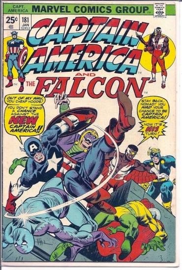 CAPTAIN AMERICA # 181, 4.0 VG
