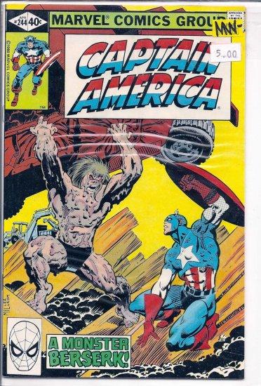 Captain America # 244, 9.2 NM -