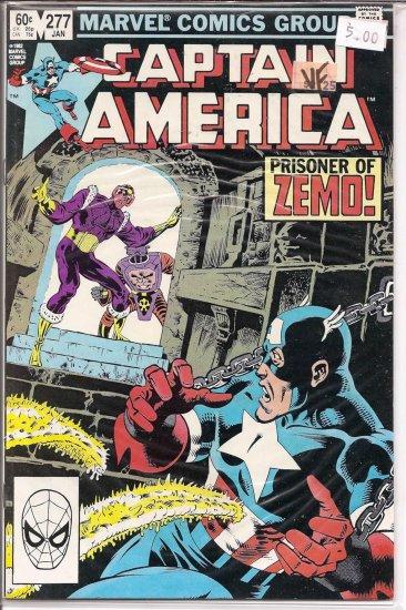 Captain America # 277, 8.0 VF