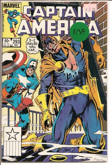 Captain America # 293, 7.0 FN/VF
