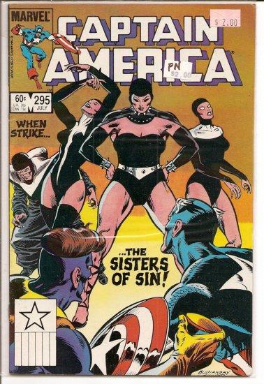 Captain America # 295, 6.0 FN