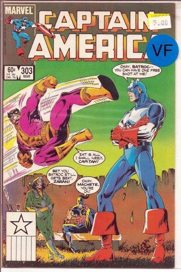 Captain America # 303, 8.0 VF