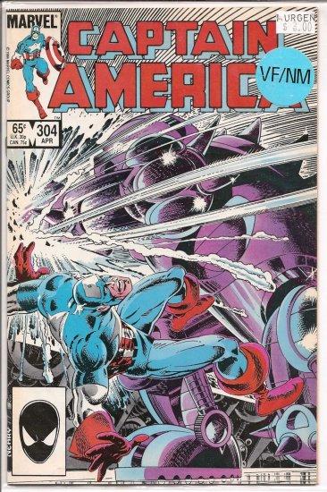 Captain America # 304, 9.0 VF/NM