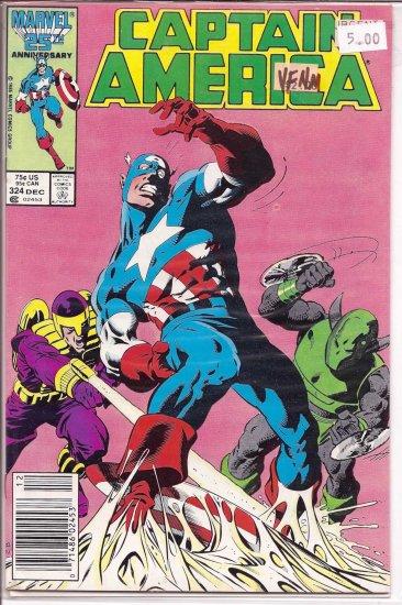 Captain America # 324, 9.0 VF/NM