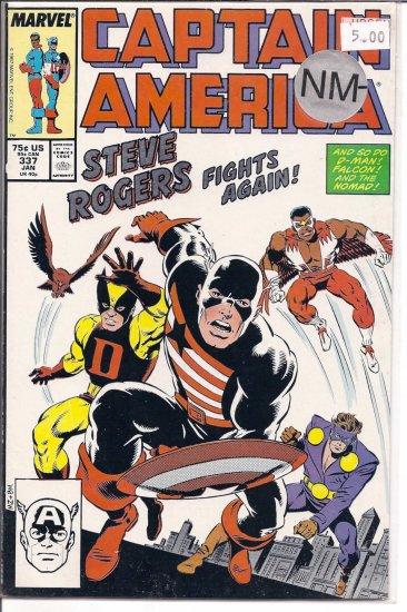 Captain America # 337, 9.2 NM -