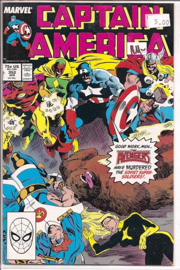 Captain America # 352, 9.2 NM -