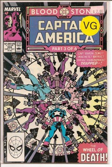 Captain America # 359, 4.0 VG