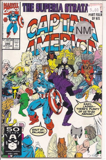Captain America # 390, 9.2 NM -