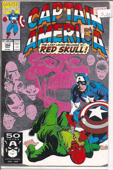 Captain America # 394, 9.4 NM