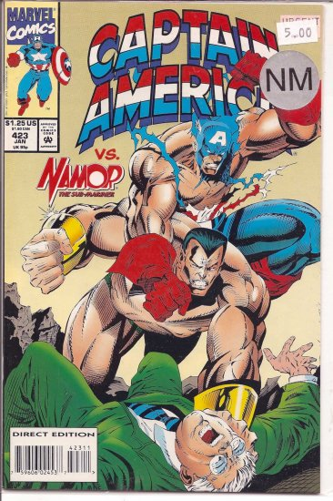 Captain America # 423, 9.4 NM