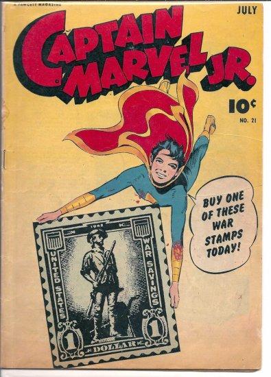 CAPTAIN MARVEL JR. # 21, 4.0 VG