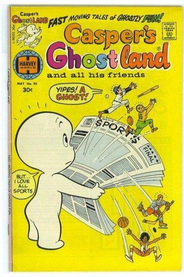 Casper's Ghostland # 95, 5.5 FN -
