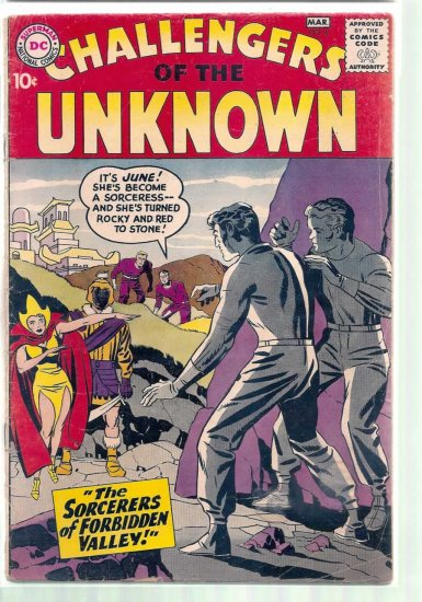 CHALLENGERS OF THE UNKNOWN # 6, 3.0 GD/VG