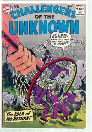 CHALLENGERS OF THE UNKNOWN # 7, 2.5 GD +