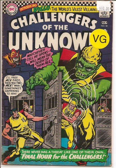 Challengers of the Unknown # 50, 4.0 VG