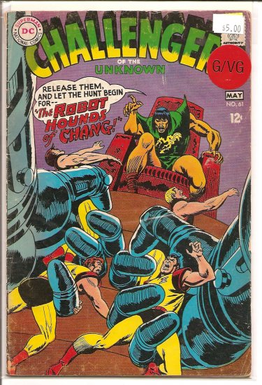 Challengers of the Unknown # 61, 3.0 GD/VG