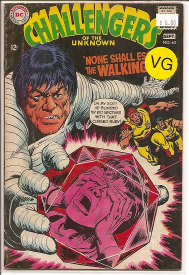 Challengers of the Unknown # 63, 4.0 VG