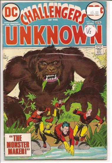 Challengers of the Unknown # 79, 4.0 VG