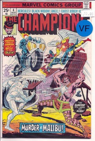 Champions, The # 4, 8.0 VF
