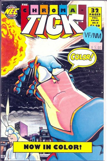 Chroma-Tick , The # 8, 9.0 VF/NM
