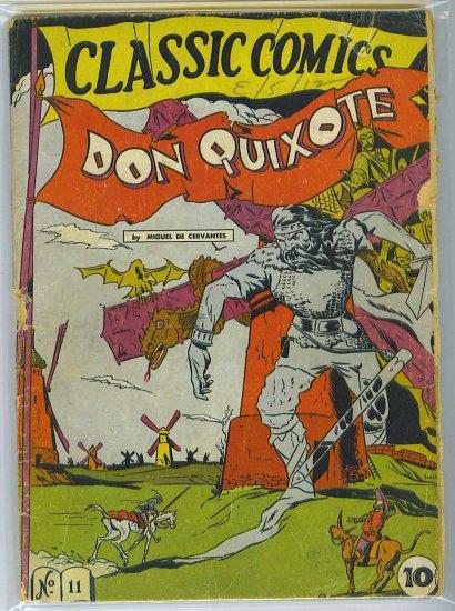 Classic Comics # 11, 1.8 GD -