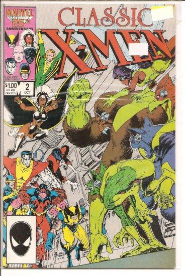 Classic X-Men # 2, 9.0 VF/NM